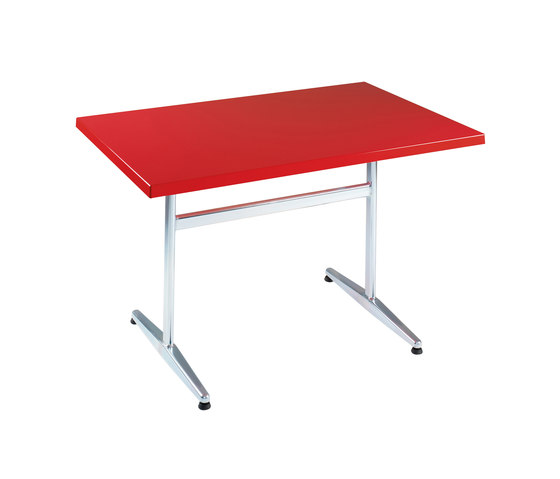 Standard with tabletop Classic by nanoo by faserplast | Canteen tables