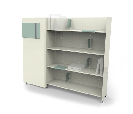 Station by ERSA   Library shelving systems