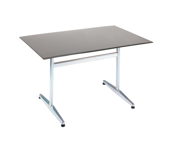 Standard with tabletop Elegance by nanoo by faserplast | Canteen tables
