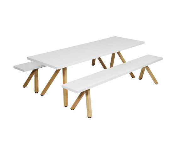 Bankett by nanoo by faserplast | Tables and benches