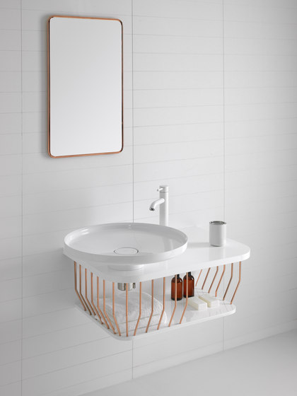 Bowl Bathroom Furniture Set 4 de Inbani | Lavabos mueble