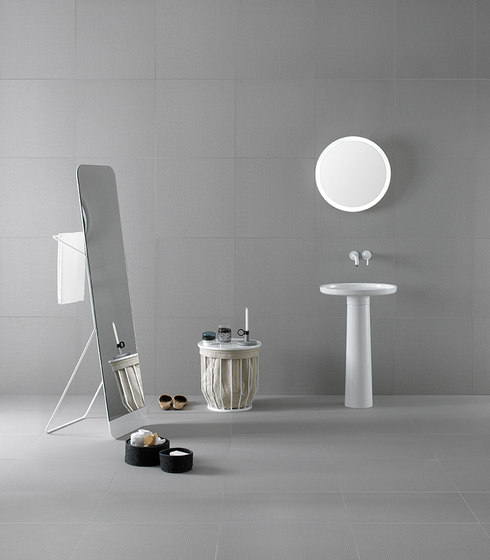 Bowl Freestanding Ceramilux® Washbasin de Inbani | Lavabos