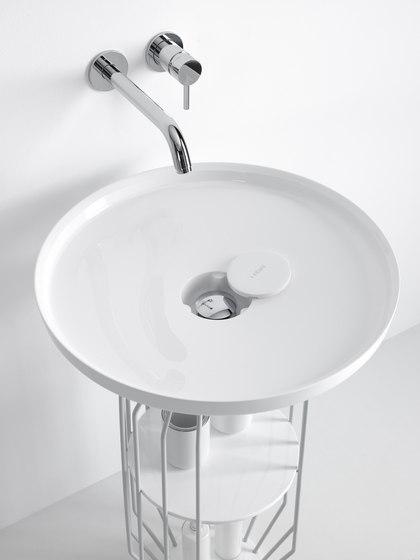 Bowl Countertop Ceramilux® Washbasin de Inbani | Lavabos
