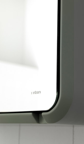 Fluent Cabinet Mirror by Inbani | Mirror cabinets