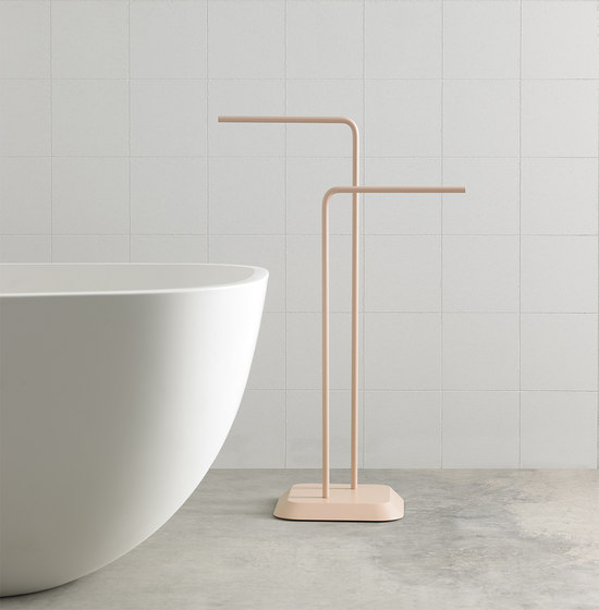 Fluent Freestanding Towel Rack by Inbani | Towel rails