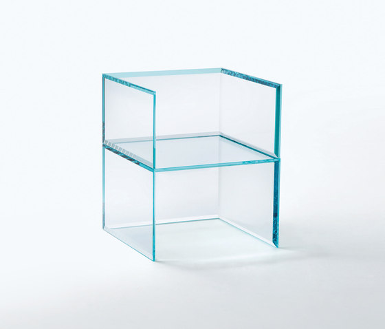 Prism Glass Chair by Glas Italia | Chairs