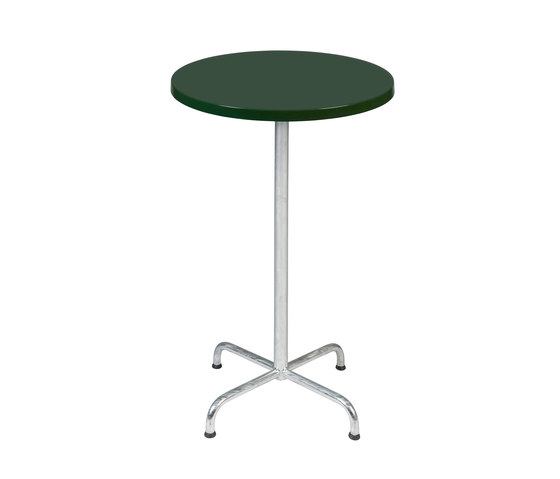 Retro with tabletop Classic by nanoo by faserplast | Bar tables
