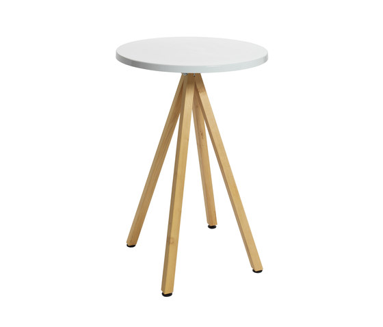 Robinia avec table Classic de nanoo by faserplast | Tables mange-debout