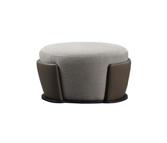 Rosaspina pouf by Promemoria | Poufs