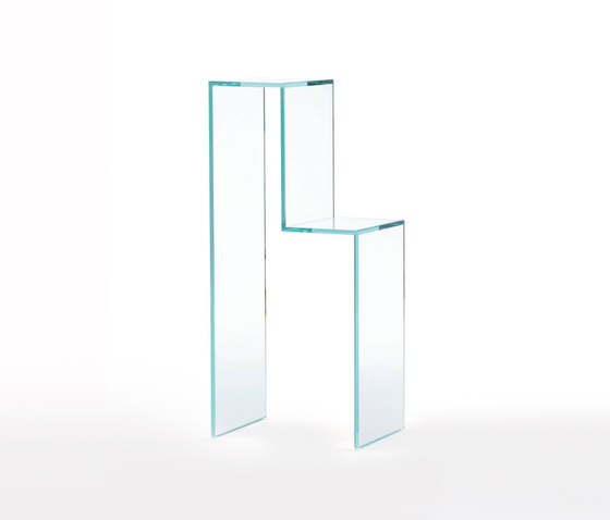 Torri by Glas Italia | Wall shelves