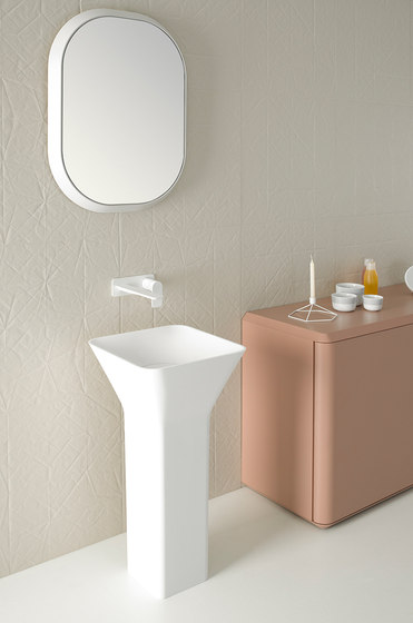 Fluent Freestanding Cristalplant® Washbasin by Inbani | Wash basins