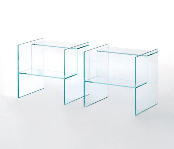 Labyrinth by Glas Italia | Side tables