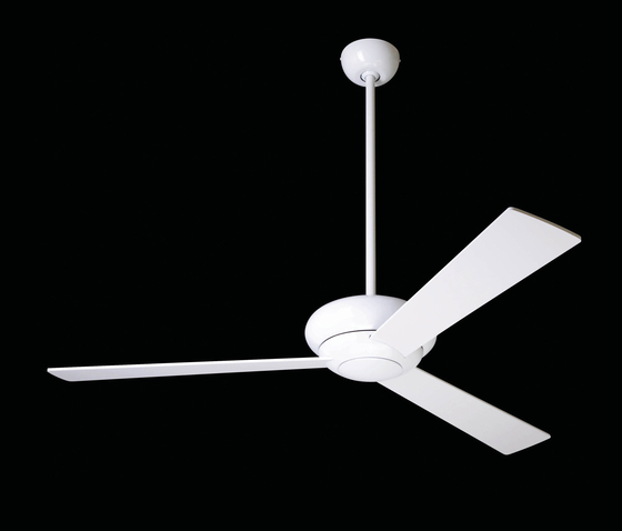 Altus gloss white by The Modern Fan | Ceiling fans