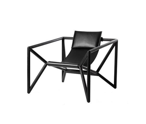 M3 Loungechair de Neue Wiener Werkstätte | Fauteuils
