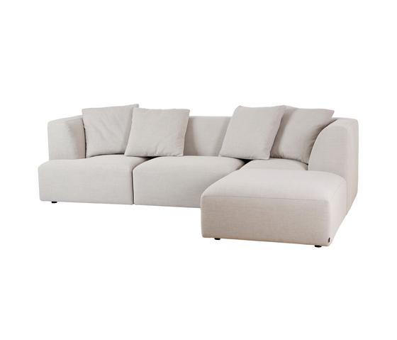 Concept 1010 Sofa di Neue Wiener Werkstätte | Sistemi di sedute componibili