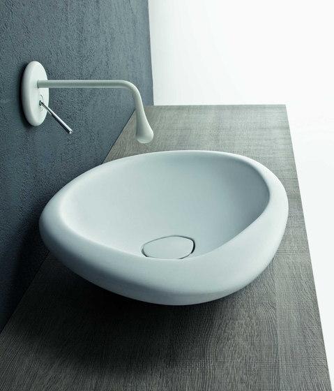 Sasso Cemak by Mastella Design   Wash basins
