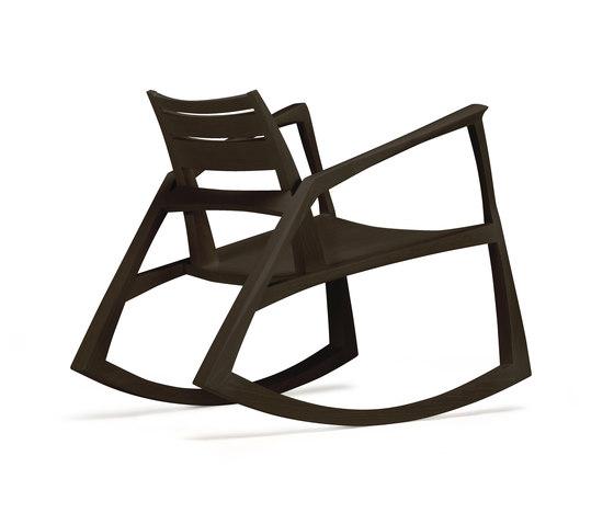 version 5 rocker timber by Skram | Lounge chairs