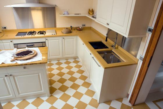 Top e lavabi su misura di mipa piani per cucine lavabo - Lavabi per cucina ...