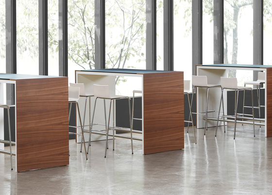 High Work by Müller Manufaktur | Standing meeting tables