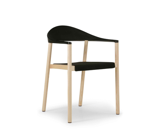 Monza armchair 1209-40 by Plank | Multipurpose chairs