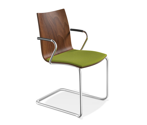 Onyx II 2341/10 by Casala | Visitors chairs / Side chairs