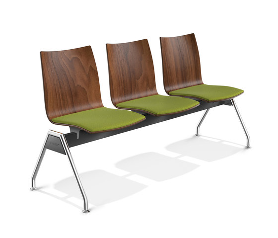 Onyx Beam Seating 2441/99 by Casala | Waiting area benches