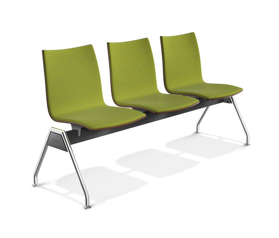 Onyx Beam Seating 2442/99 by Casala | Waiting area benches
