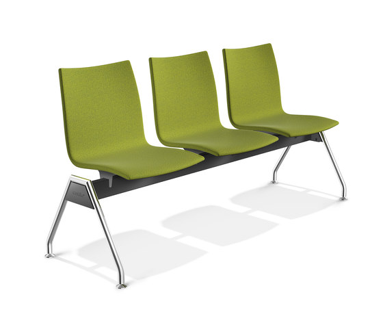 Onyx Beam Seating 2443/99 by Casala | Waiting area benches