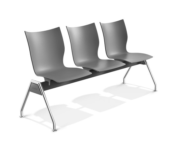 Onyx Beam Seating 3430/99 by Casala | Waiting area benches