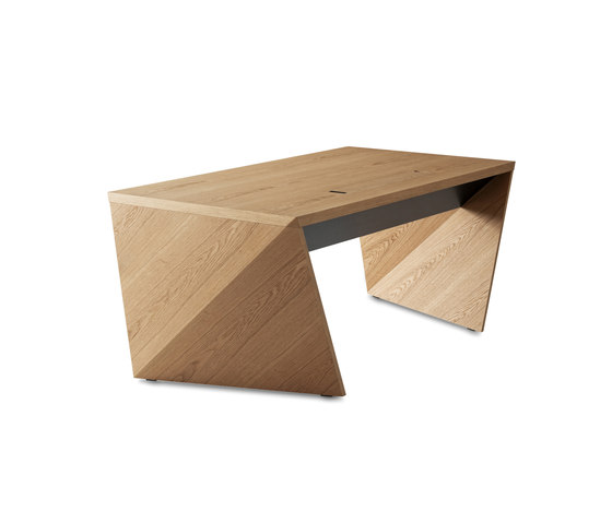 AIR 101 WOOD Oak by bau+art | Individual desks