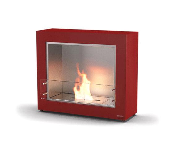 Muble 1050 chimeneas sin humo de etanol de glammfire - Chimeneas de obra sin humo ...
