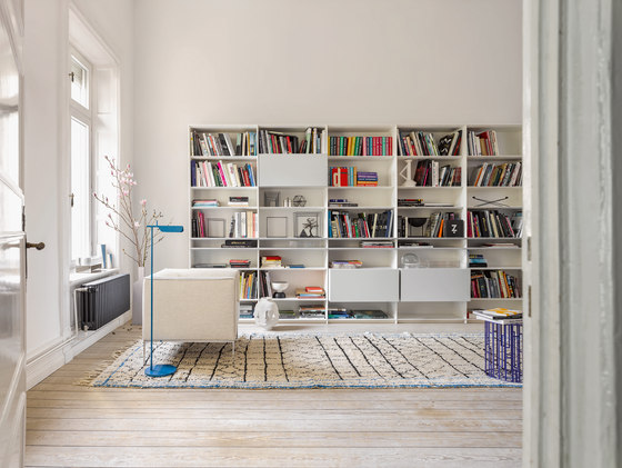 grid by interlübke | Office shelving systems