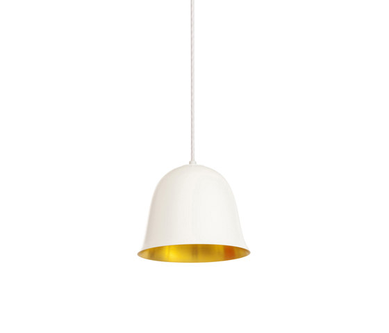 Cloche One, White by NORR11 | Suspended lights