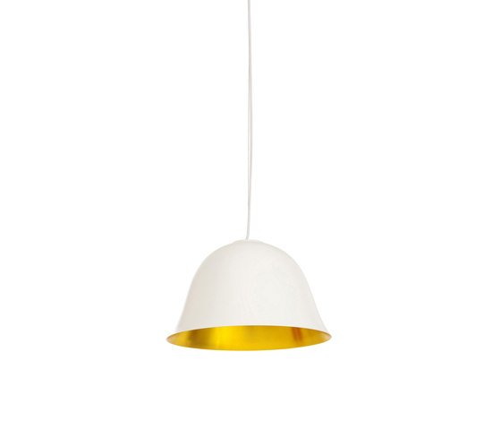 Cloche Two, White de NORR11 | Lámparas de suspensión