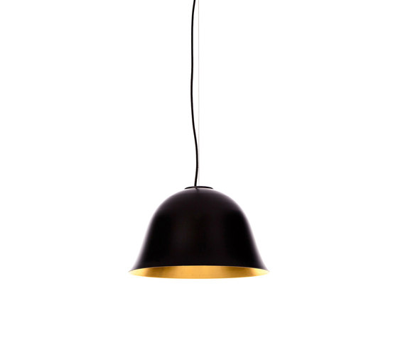 Cloche Two, Black by NORR11 | Suspended lights
