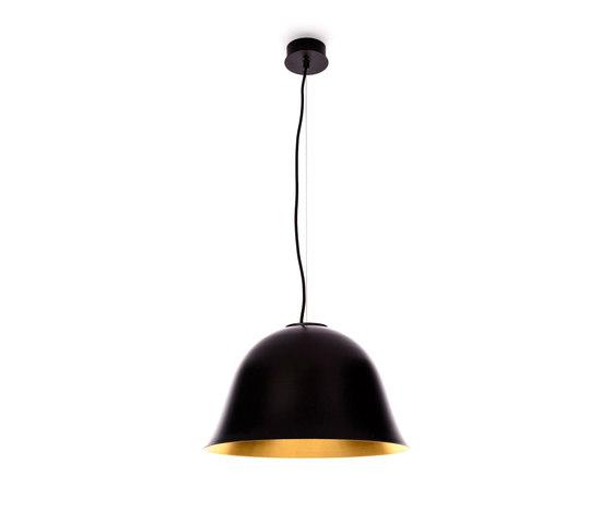 Cloche Two, Black di NORR11 | Lampade sospensione