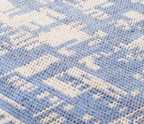 DGTL One pastel blue & ivory by kymo | Rugs / Designer rugs