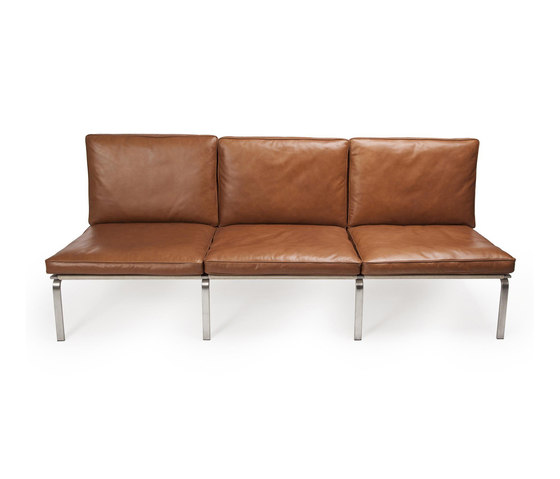 Man Sofa, Three-Seater: Vintage Leather Cognac 21000 by NORR11 | Sofas