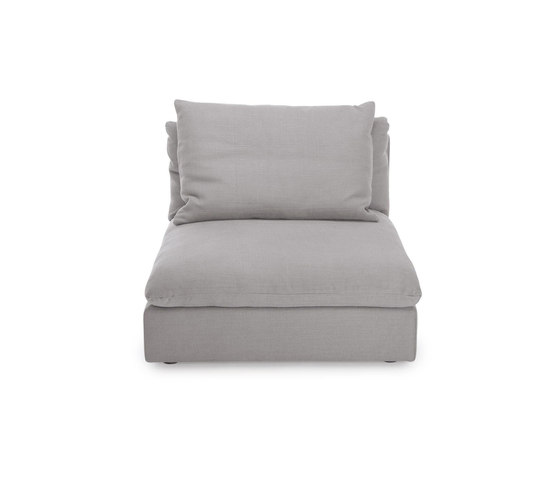 Macchiato sofa center small by NORR11 | Modular seating elements