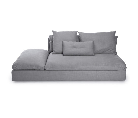 Macchiato Sofa, Large Center: Kiss Stone 181 by NORR11   Modular seating elements