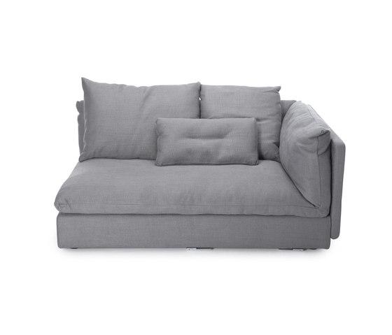 Macchiato Sofa, Left Arm: Kiss Stone 181 by NORR11 | Modular seating elements
