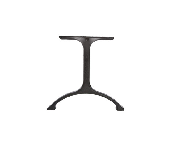 Table Legs Maiden, Set - Iron/Tall: Raw Natural by NORR11 | Trestles