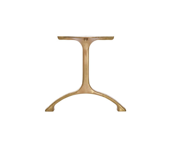 Table Legs Maiden, Set - Brass/Tall by NORR11 | Trestles