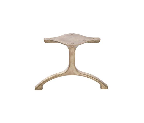 Table Legs Maiden, Set - Brass/Tall de NORR11 | Tréteaux