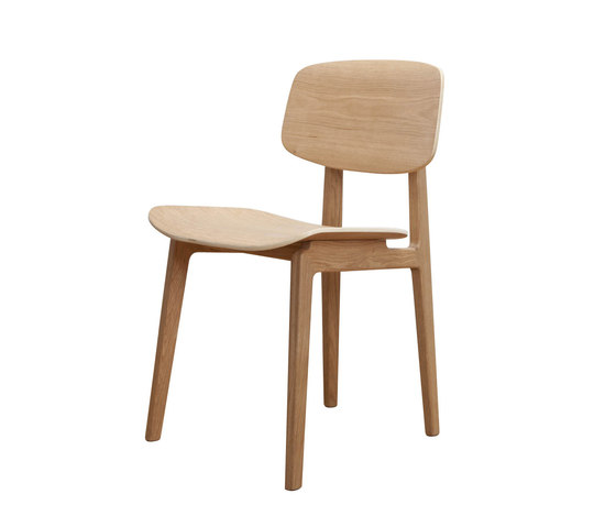NY11 Dining Chair, Natural by NORR11 | Restaurant chairs