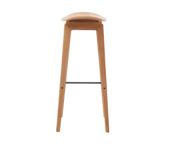 NY11 Bar Chair, Natural, High 75 cm de NORR11 | Taburetes de bar