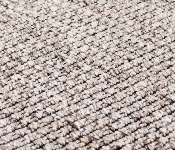 Nordic Plain nature & black by kymo | Rugs