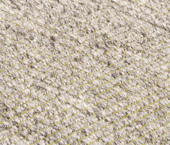 Nordic Plain nature & lime green by kymo | Rugs / Designer rugs
