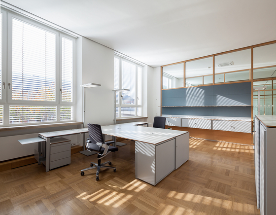 m-pur by planmöbel   Desking systems