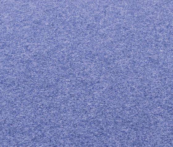 Fabric [Flat] Felt lilac blue by kymo | Rugs / Designer rugs